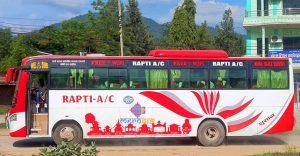 Dang-to-Delhi-Bus-Service