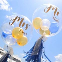 Mr & Mrsバルーンセット