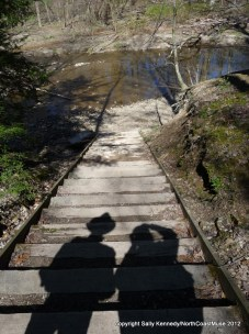 Spring hike at Hogback Ridge, Lake Metroparks, Lake County, Ohio