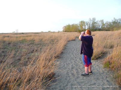 Spring birding with Andy at Headlands Dunes, Mentor, Ohio