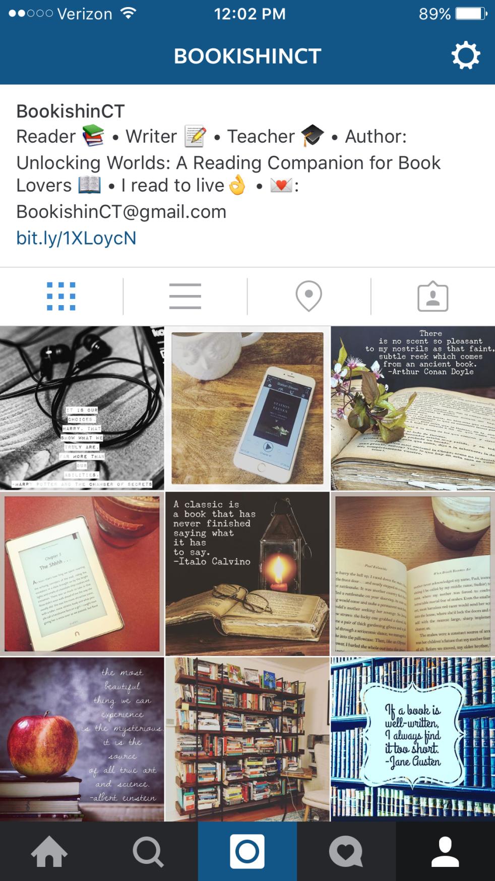 Bookstagram - reading slump