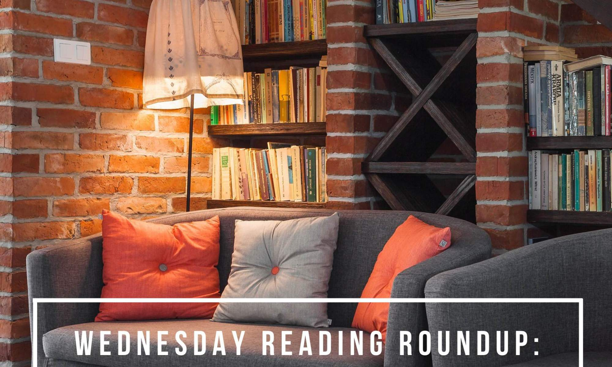 Another Wednesday, another opportunity to share my reading roundup, with thanks to Taking on a World of Words and Coffee and Cats for the inspiration!
