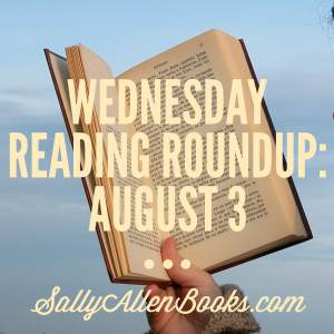 This week's reading roundup finds me with with three books in my currently reading pile and a very, super, long list of books to read next.