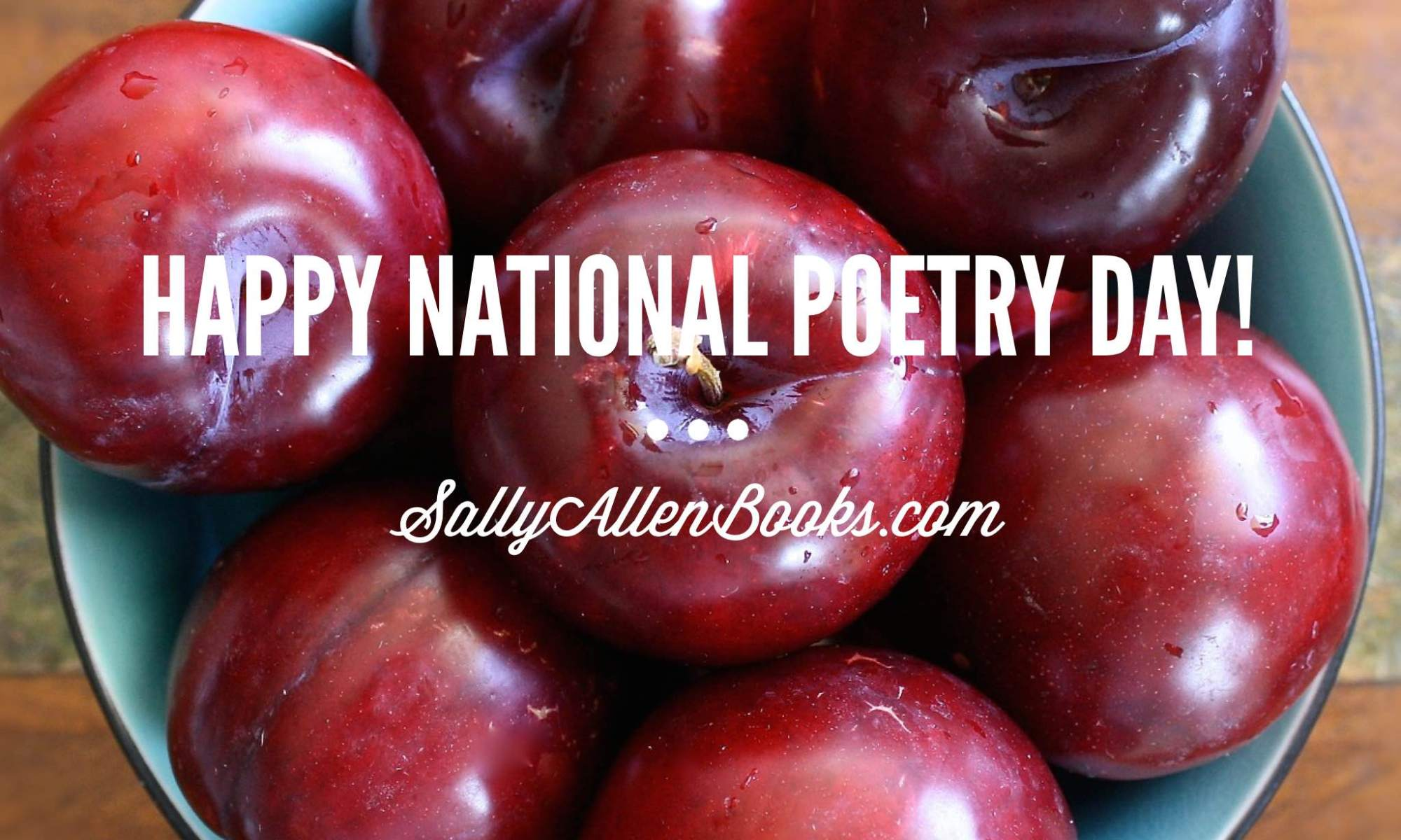 Happy National Poetry Day! What are some of your favorite poems?