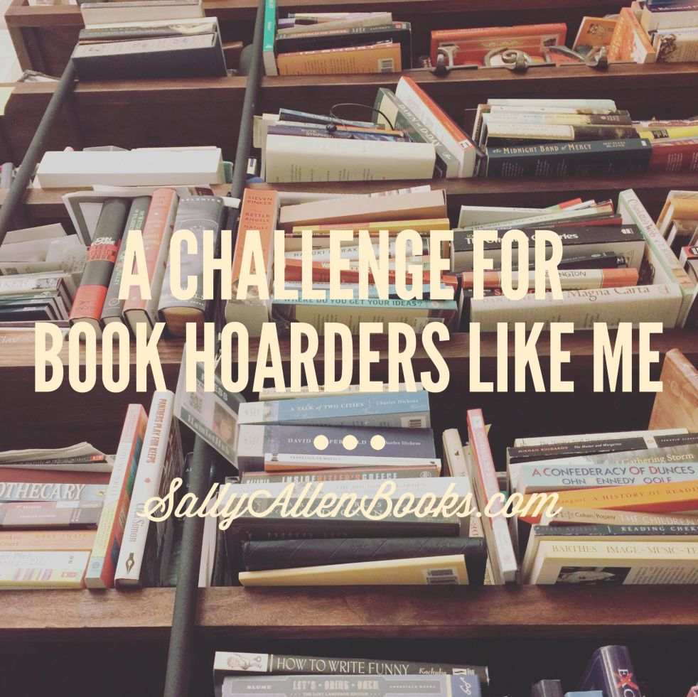 I am one of those readers. The ones who collects books faster than I can read them. Book hoarders and me, we understand each other. I am one of them.