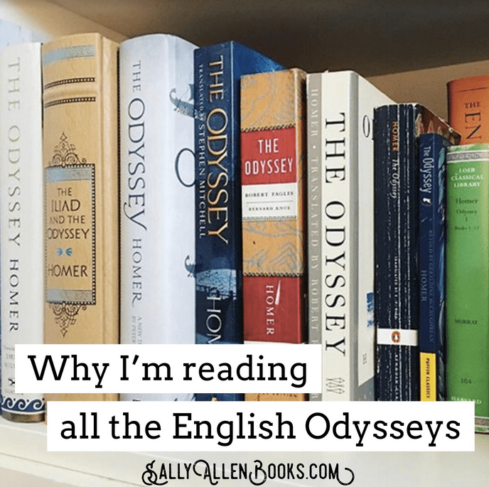 Why I'm reading all the English translations of The Odyssey