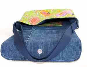 Messenger bag, Cross Body Bag, Green Messenger Bag, Daiper Bag