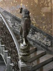 Grey statue, Havana, 2017