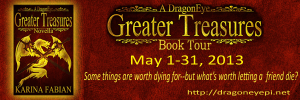 Greater Treasures Blog Tour Banner