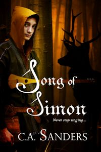 Cover Art Song of Simon by C. A. Sanders