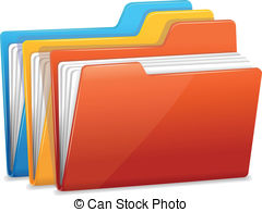 Submission Packet clipart folders