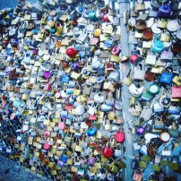 Love Locks in Portland, ME
