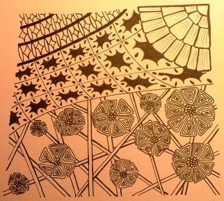 Zentangle 23 2014-01-25