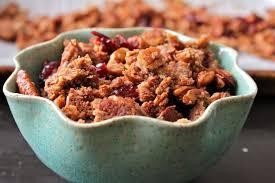 paleo maple nut granola