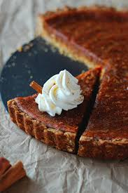 Oat crisp pumpkin pie
