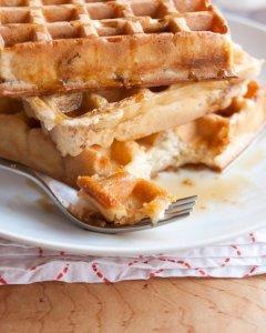overnight yeated waffles