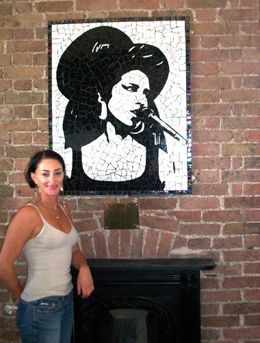 AmyWinehouse Tribute Mosaic