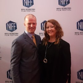 Billy Smedley and Sally McLean at NIFF 2018
