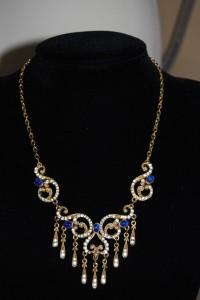 Sphinx Victorian revival necklace