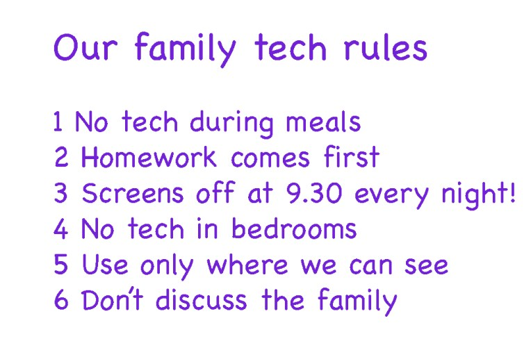 Rules for tech