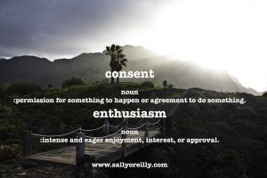 Enthusiastic Consent