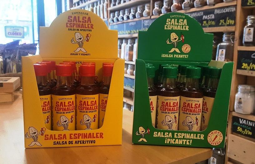 Salsas Espinaler y Salsas Espinaler Picantes en Sally Pepper Spices la tienda de especias en Madrid