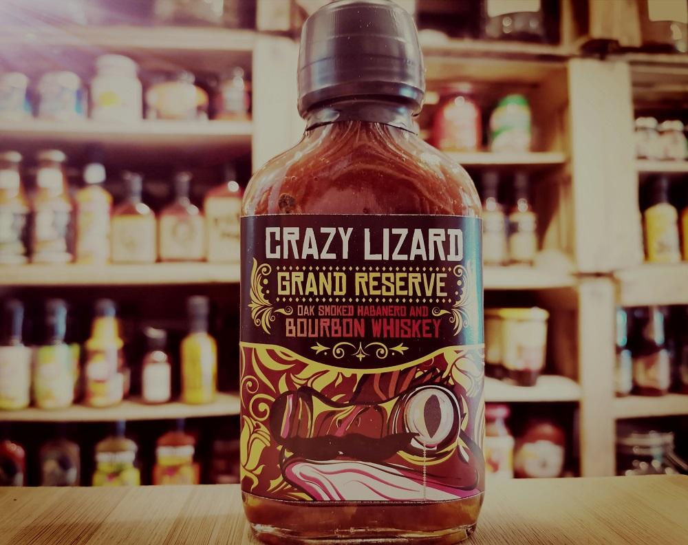 sally pepper-spices-tienda-salsas picantes-madrid-crazy lizard-grand-reseve-bourbon-habanero