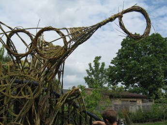 willow structure Rock Road Library