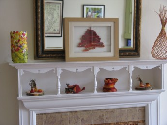 Display of baskets Sally Roach