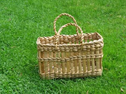 rush shopping basket