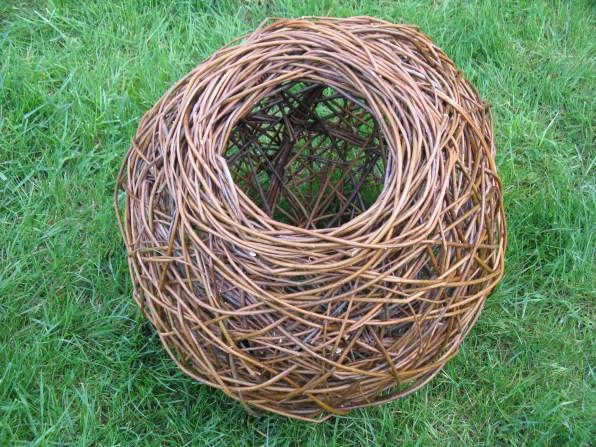 random weave open willow ball