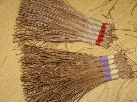 pine needle brushes
