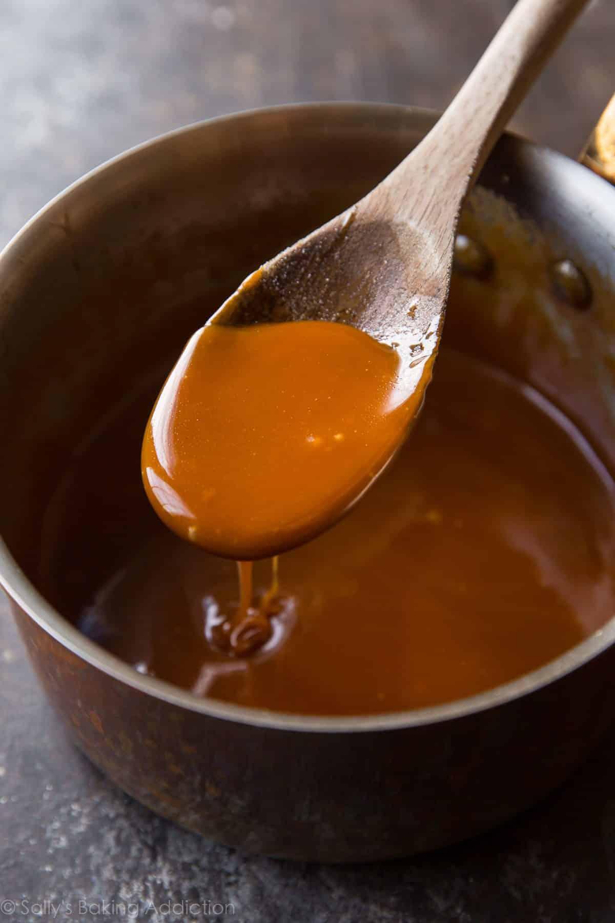 Homemade Salted Caramel Recipe Sallys Baking Addiction
