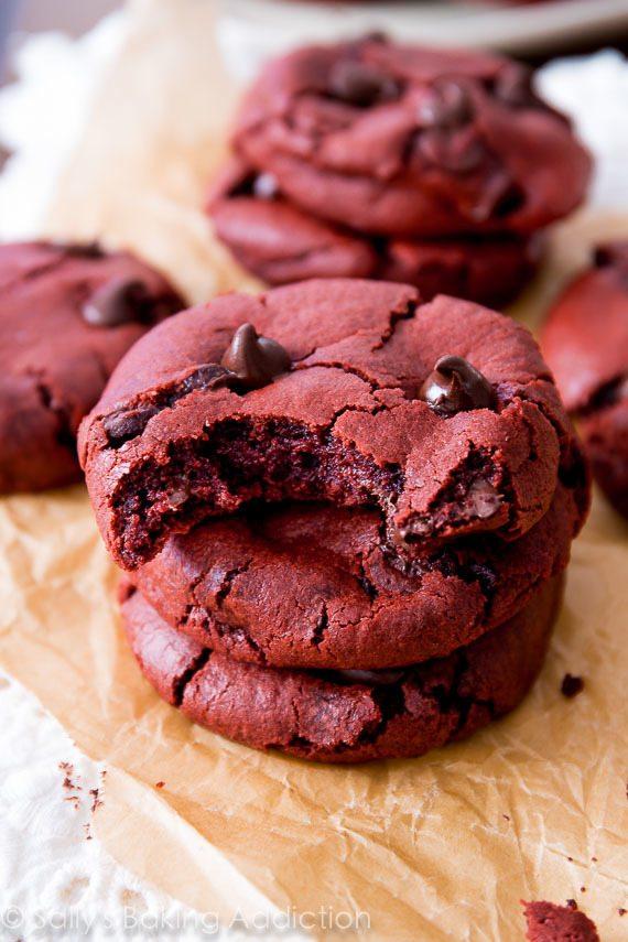 Red Velvet Cookies Valentine's Day Recipes