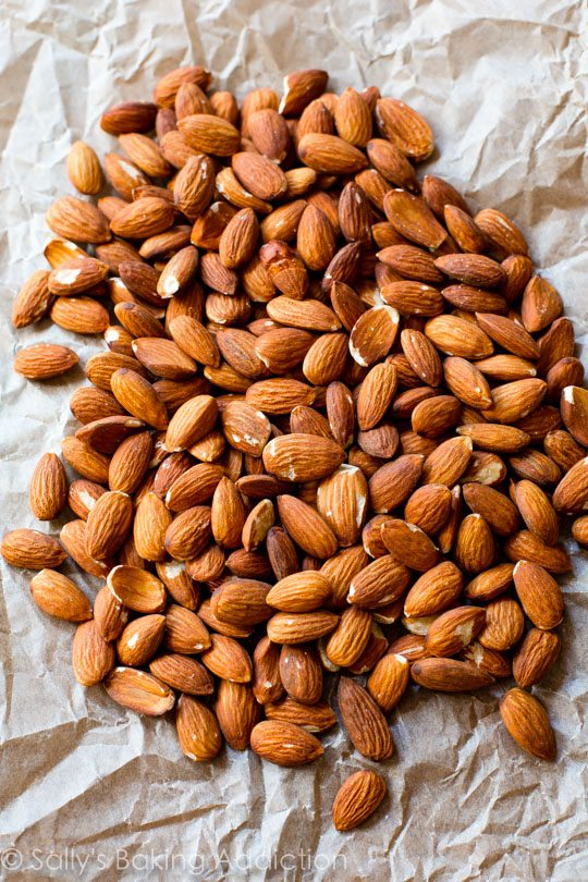 Dark Chocolate Sea Salt Almonds