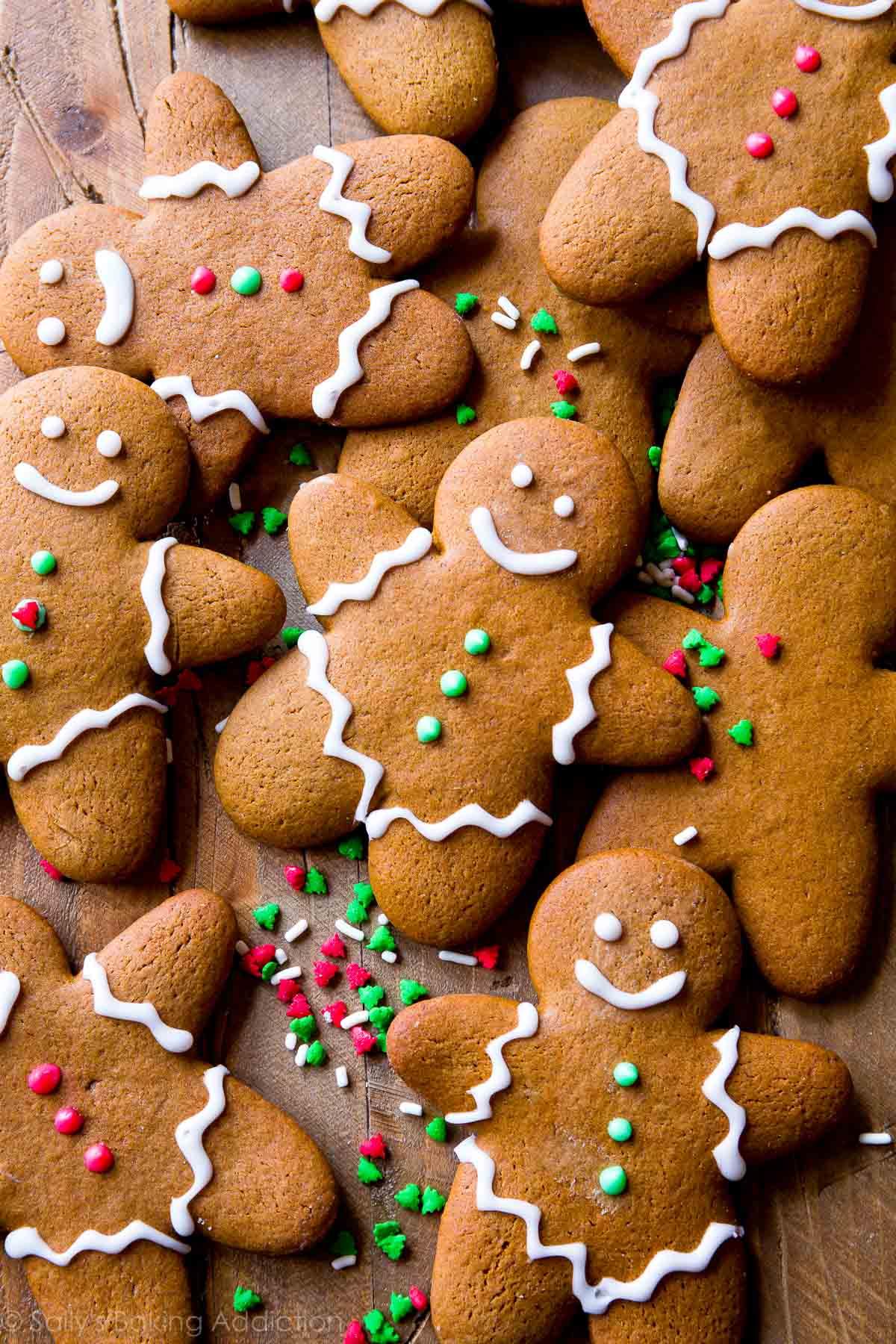 My Favorite Gingerbread Men Recipe