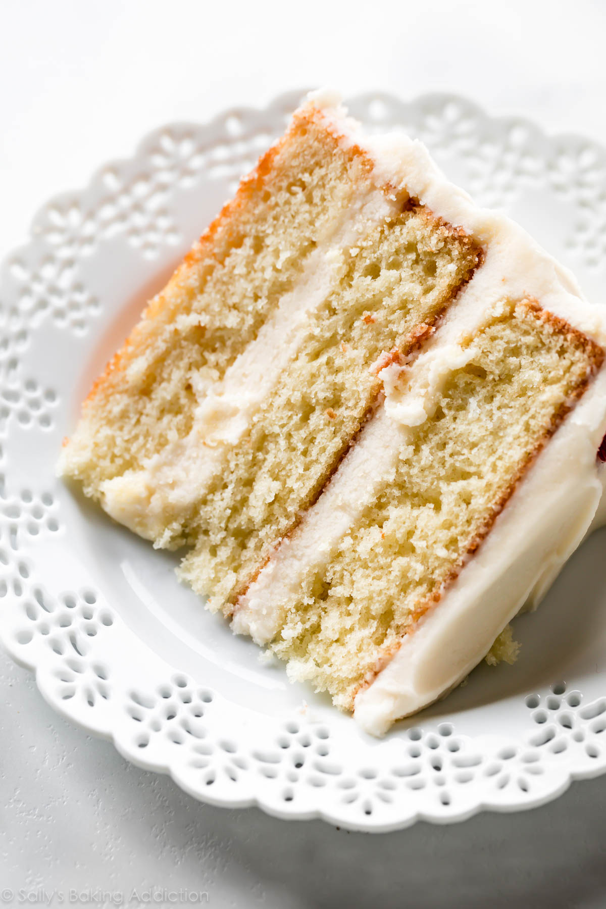 The Best Vanilla Cake I Ve Ever Had Sally S Baking Addiction
