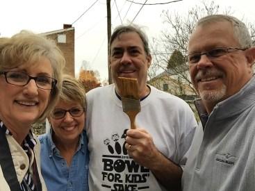 Our new neighbors, Sandy & Dick Freeman!