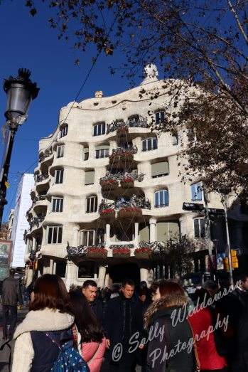 Gaudi Casa Mila, Barcelona external