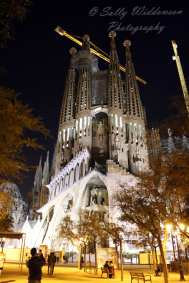 Passion Facade, Basilica de la Segrada Familia, Barcelona Spain