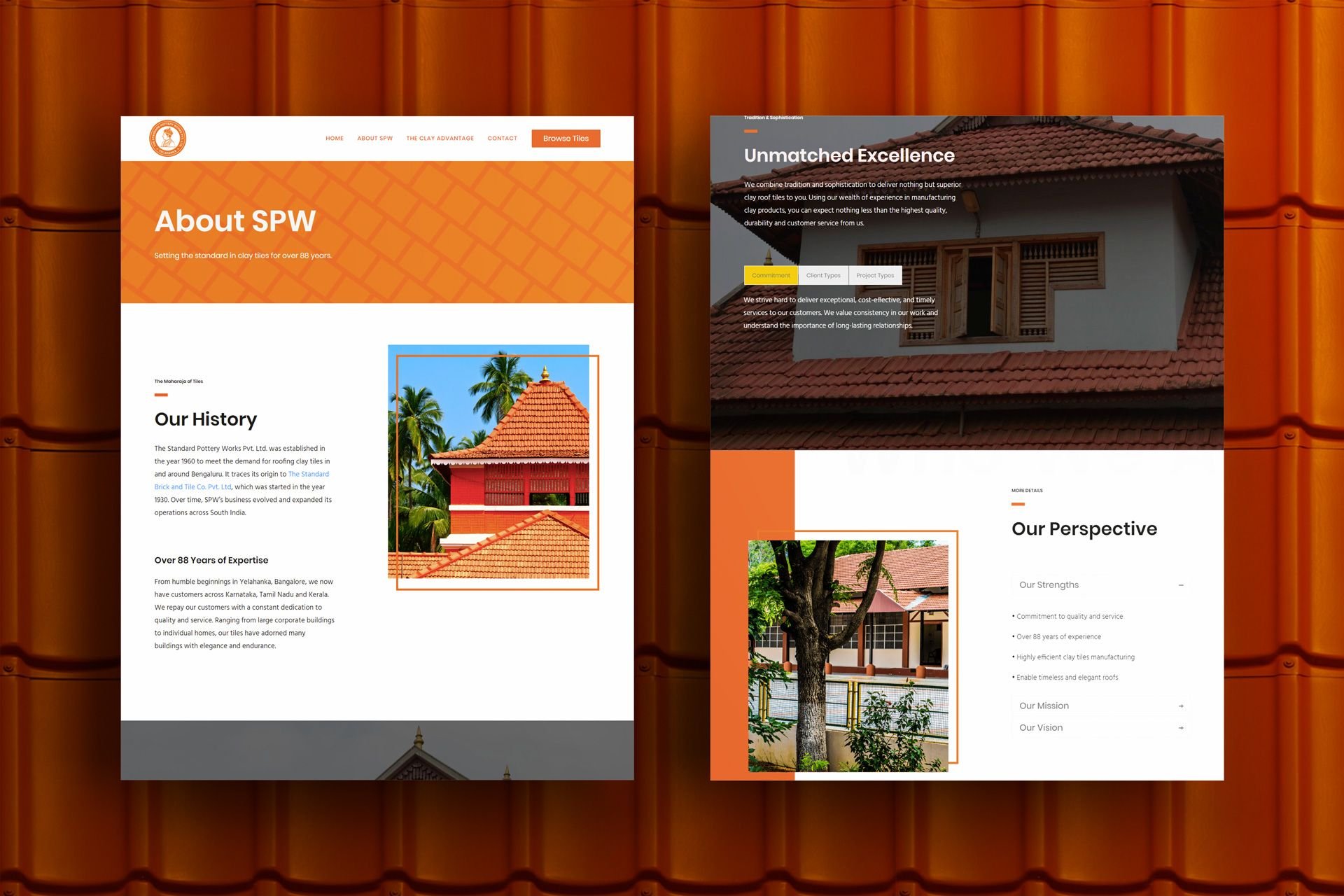 SPW Website Screens Mockup – Salman-Ravoof – About Us Page