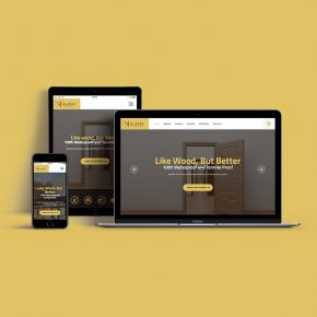 Thumbnail of Responsive Website Mockups of Glades