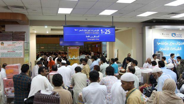 Mayhem at Jeddah airport