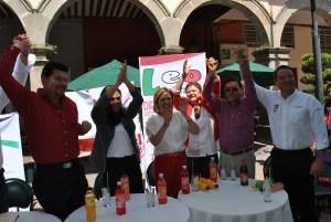 Arrancan campaña candidatos a diputados locales del PRI.
