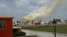 El cáncer y el aire contaminado