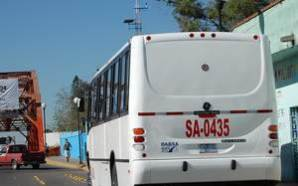 ANTE UNIDADES DE TRANSPORTE PÚBLICO EN MALAS CONDICIONES Y CONDUCTORES…