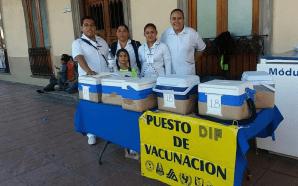 INICIA VACUNACIÓN DE LA PRIMERA SEMANA NACIONAL DE SALUD 2017…