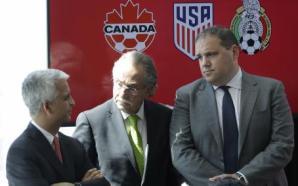 México, EU y Canadá formalizan candidatura para Mundial 2026
