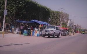 REGRESA INVASIÓN DE ÁREAS PÚBLICAS A PLACER DEL COMERCIO INFORMAL…