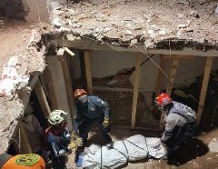 Grupo Especializado USAR-Guanajuato en coordinación con Protección Civil de Iztapalapa,…
